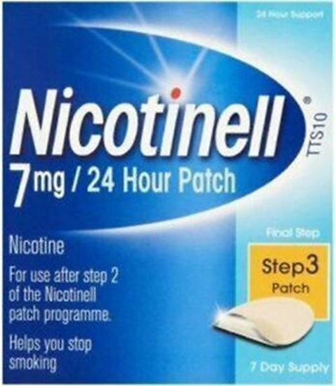 Picture of Nicotinell Nicotine Patch TTS10 7mg- Step 3 - 7 Days Supply