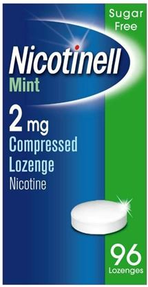 Picture of Nicotinell Mint Compressed Lozenges 2mg x 96