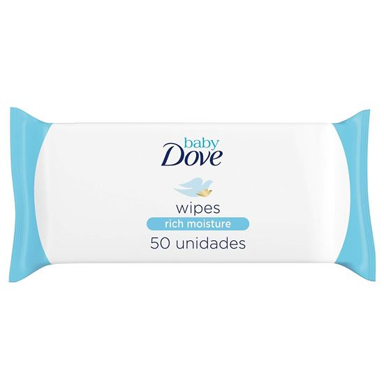 Picture of Baby Dove Rich Moisture Wipes 50pc