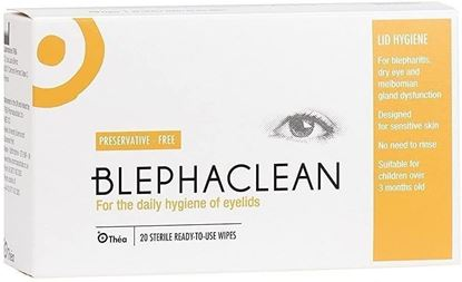 Picture of BLEPHACLEAN Sterile Eyelid Wipes