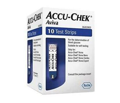 Picture of Accu-Chek Aviva Glucose Test Strips 50