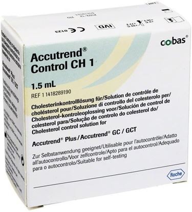 Picture of Accutrend Cholesterol Control Solution (1.5ml)