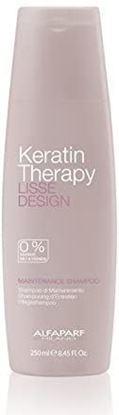 Picture of Alfaparf Milano Keratin Therapy Lisse Design Maintenance Shampoo, 250 ml