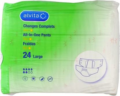 Picture of Alvita Incontinence All in One Medium Maxi Night Pants Pack of 20