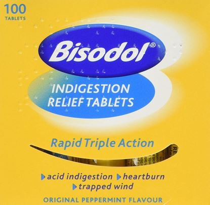 Picture of Bisodol Indigestion Relief 100 Tablets