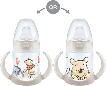 Picture of NUK First Choice Winnie the Pooh 150ml Learner Bottle Salmon