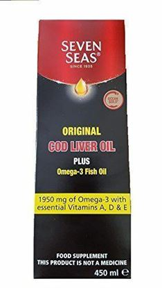 Picture of Seven Seas Original Cod Liver Oil 450ml