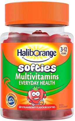 Picture of Haliborange Kids Multivitamins Strawberry Softies, 30s