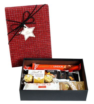 Picture of Chocolate Hamper Gift Selection Gift Box Present for All Occassions -  Favourite Lindt Treats Set 3