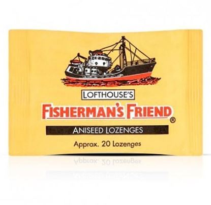 Picture of Fisherman's Friend Lozenges Aniseed 25g