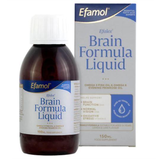 Picture of Efalex Omega 3 +6 Food Supplement Lemon & Lime Flavoured Liquid 150mls