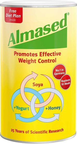 Picture of Almased Soya, Yogurt and Honey Meal Replacement for Weight Loss 500g